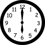 wall_clock_six